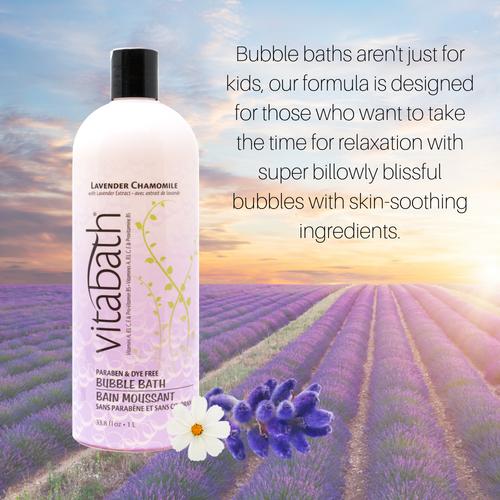 Lavender Chamomile Bubble Bath 33.8 fl oz/1L