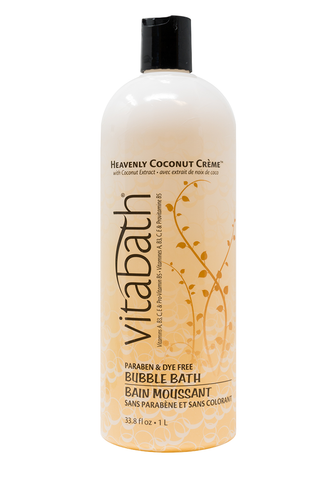 Heavenly Coconut Crème™ Bubble Bath 33.8 fl oz/1L