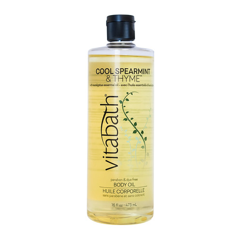 Cool Spearmint & Thyme™ Body Oil 16 fl oz/473 mL