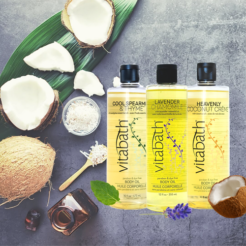Heavenly Coconut Creme™ Body Oil 16 fl oz/473mL