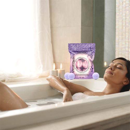 Lavender Chamomile Bath Fizzies 10 oz/283 g