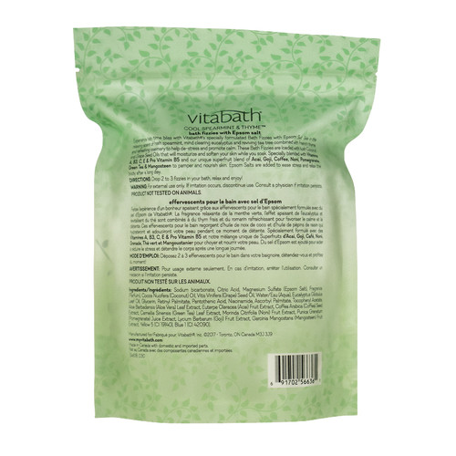 Cool Spearmint & Thyme™ Bath Fizzies 10 oz/283 g