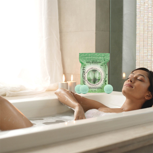 Cool Spearmint & Thyme™ Bath Fizzies 10 oz/283 g