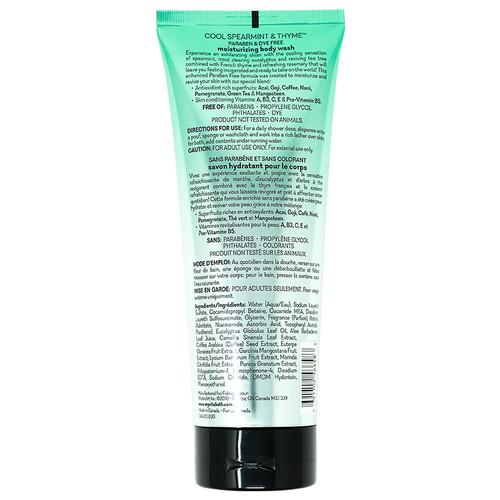 Cool Spearmint & Thyme™ Body Wash 10 fl oz/296 mL