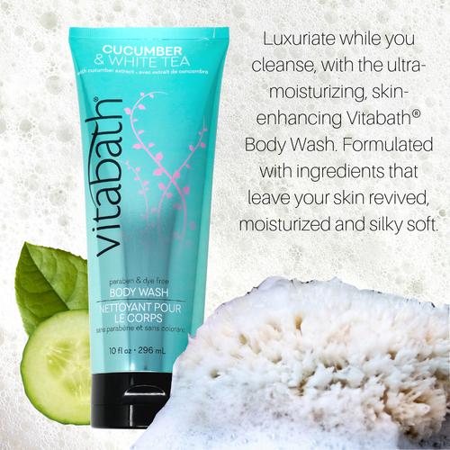Cucumber & White Tea Body Wash 10 fl oz/296 mL