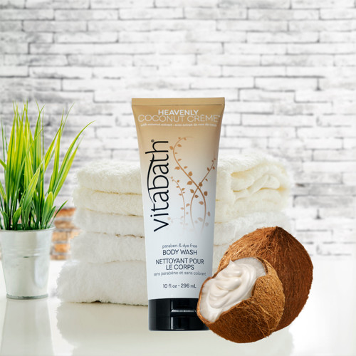 Heavenly Coconut Crème™ Body Wash 10 fl oz/296 mL