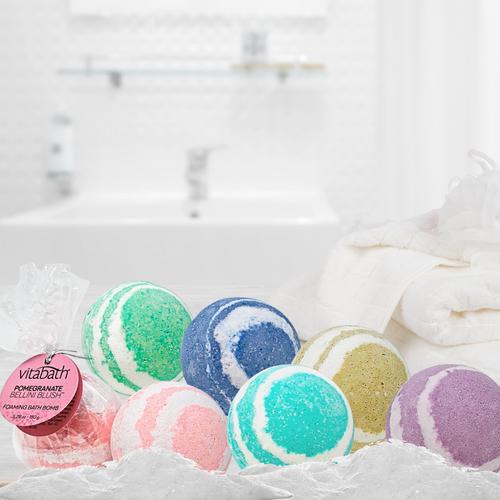 Heavenly Coconut Crème™ Hand- Wrapped Foaming Bath Bomb 5.29 oz/150 g