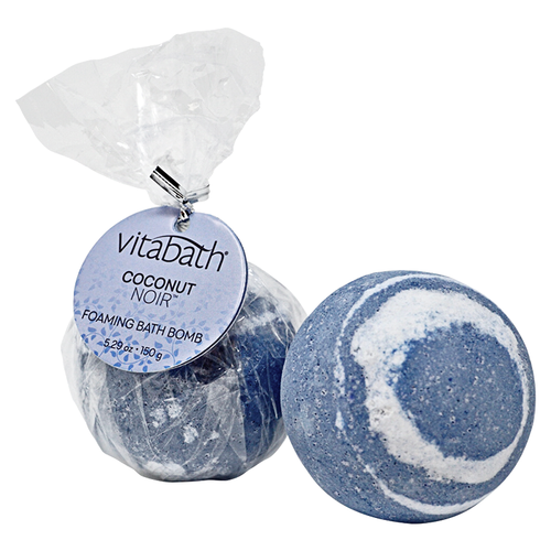 Coconut Noir™ Hand-Wrapped Foaming Bath Bomb 5.29 oz/150 g