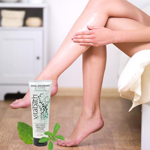 Cool Spearmint & Thyme™ Body Cream 8 oz/226 g