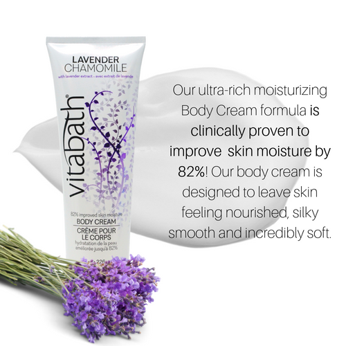 Lavender Chamomile Body Cream 8 oz/226 g