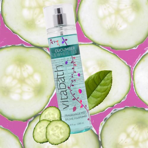 Cucumber & White Tea Fragrance Mist 8 fl oz/236 mL