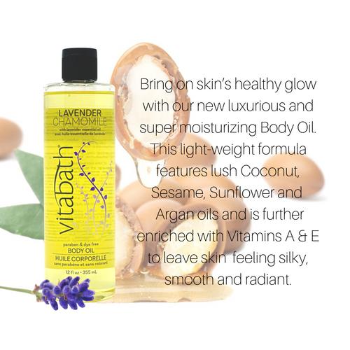 Lavender Chamomile Body Oil 12 fl oz/355 mL