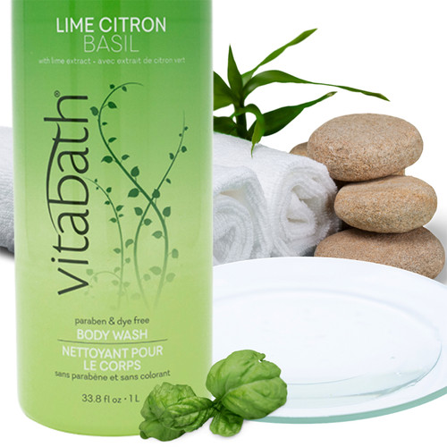 Lime Citron Basil Body Wash – 33.8 fl oz/1 L