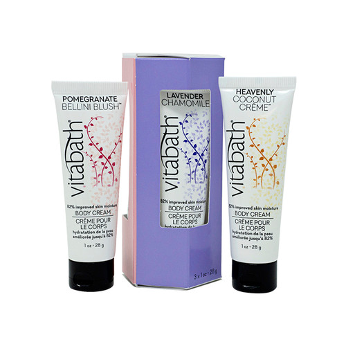 Body Cream Trio Set 1 oz/ 28 g