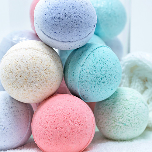 Cucumber & White Tea Bath Fizzies 10oz/283 g