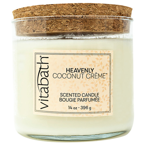 Heavenly Coconut Crème™ 3-wick Filled Candle 14 oz/396g