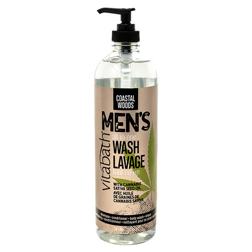Coastal Woods Men's All-In-One Wash 26.4 fl oz/780 mL