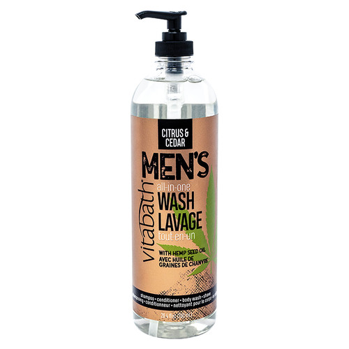 Citrus & Cedar Men's All-In-One Wash 26.4 fl oz/780 mL