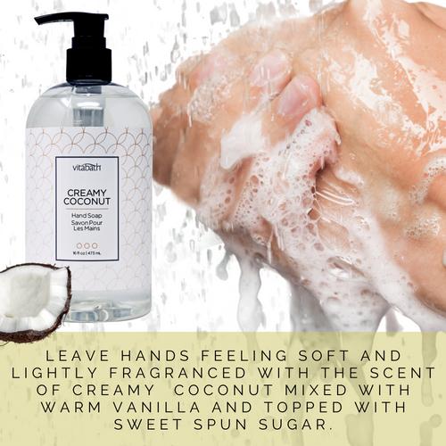 Creamy Coconut Hand Soap 16 fl oz/473 mL