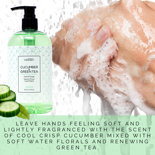 Cucumber & Green Tea Hand Soap 16 fl oz/473 mL