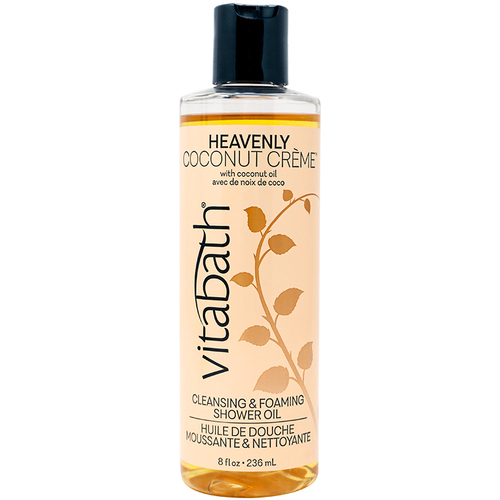 Heavenly Coconut Creme™ Foaming Shower Oil 8 fl oz/236 mL
