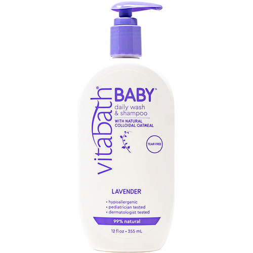 BABY Daily Wash & Shampoo 12 fl oz/355 mL