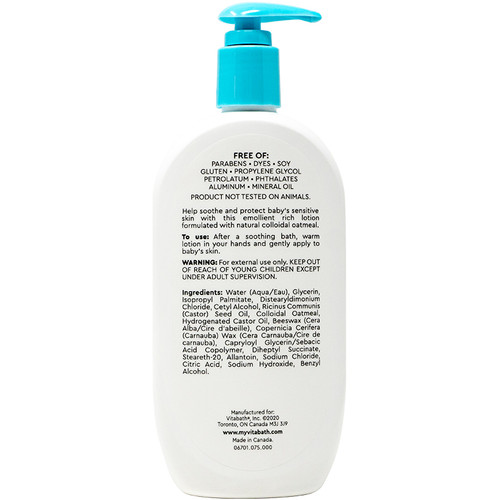 BABY Soothing Relief Moisture Lotion 12 fl oz/355 mL