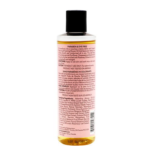 Pomegranate Bellini Blush™ Foaming Shower Oil 8 fl oz/236 mL