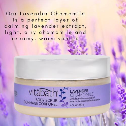 Lavender Chamomile Body Scrub 7.76 oz/220 g