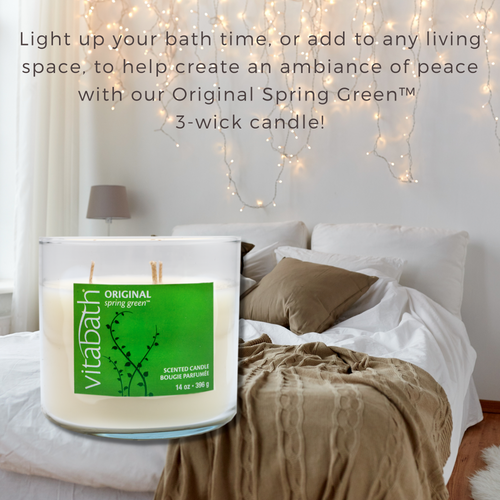 Original Spring Green™ 3-wick Filled Candle 14oz/396g