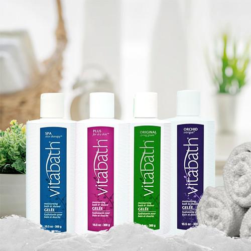 Plus for Dry Skin™ Bath & Shower Gelée 10.5 oz/300 g