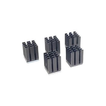 Aluminum Heatsink - 9*9*12 - Black - 5 pack