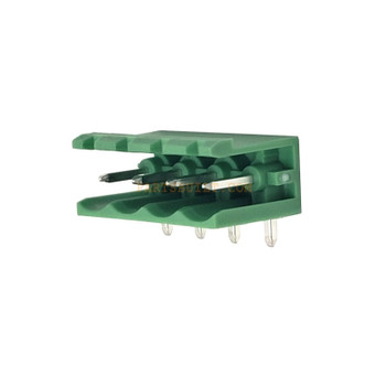 4 Position Right Angle Terminal Block Header