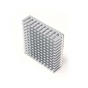40x40 Heatsink for Nema 17 Stepper Motor Silver
