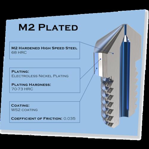 MK8 M2 HS Hardened Steel 450C Nozzle - Micro Swiss - 0.60mm