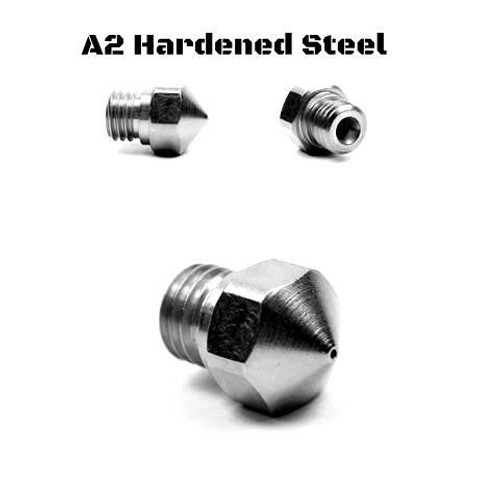 MK10 A2 Steel Nozzle For Micro Swiss All Metal Hotend Kit - 0.80mm