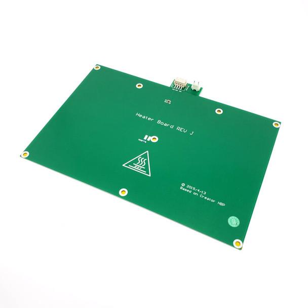 Flashforge Creator Pro PCB Build Plate Heater