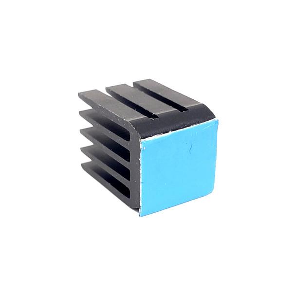 Aluminum Heatsink - 9*9*12 - Black - Single