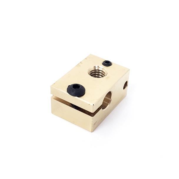 V6 Brass Heater block