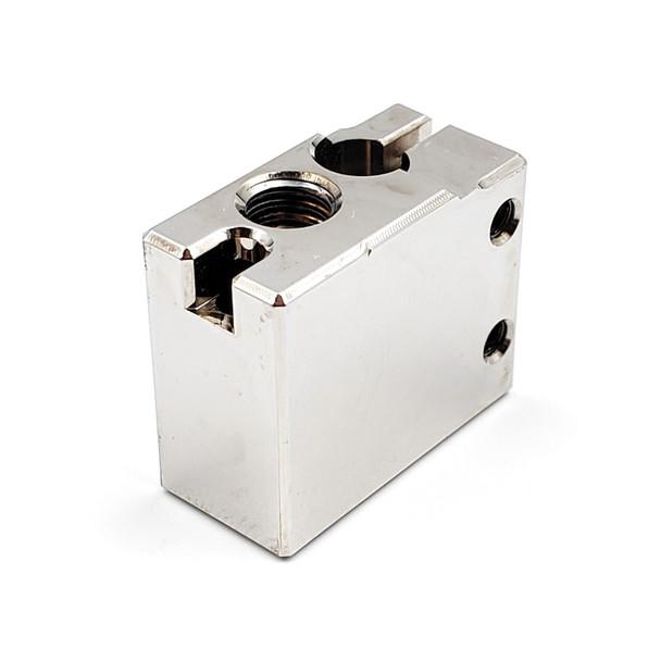 Heater Block - Plated Copper - Volcano Compatible