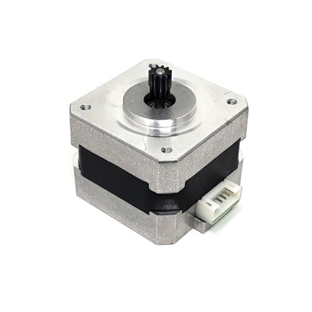 MakerGear Extruder Motor with Gear