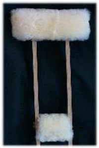 Medical Sheepskin Crutches Covers: