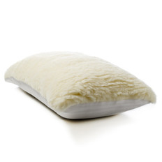 Premium Wool Pillow Soft Cover: M129D