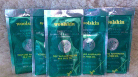 W103A: Woolskin Sachet 5-PAK