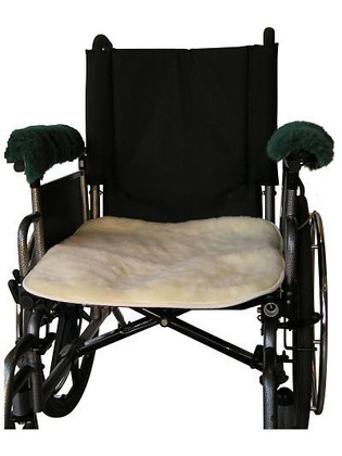 Hospital Wool Fleece Wheelchair Seat Pad: F103A
