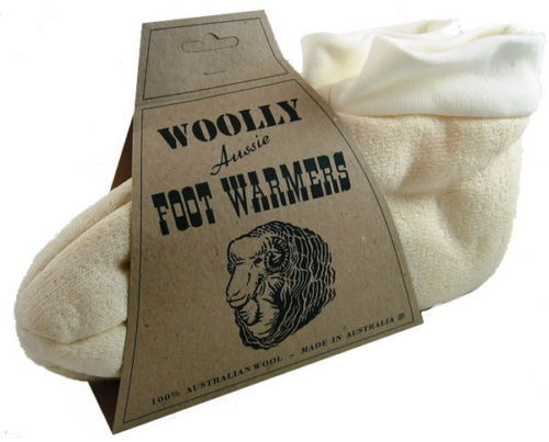 Woolly Footwarmers