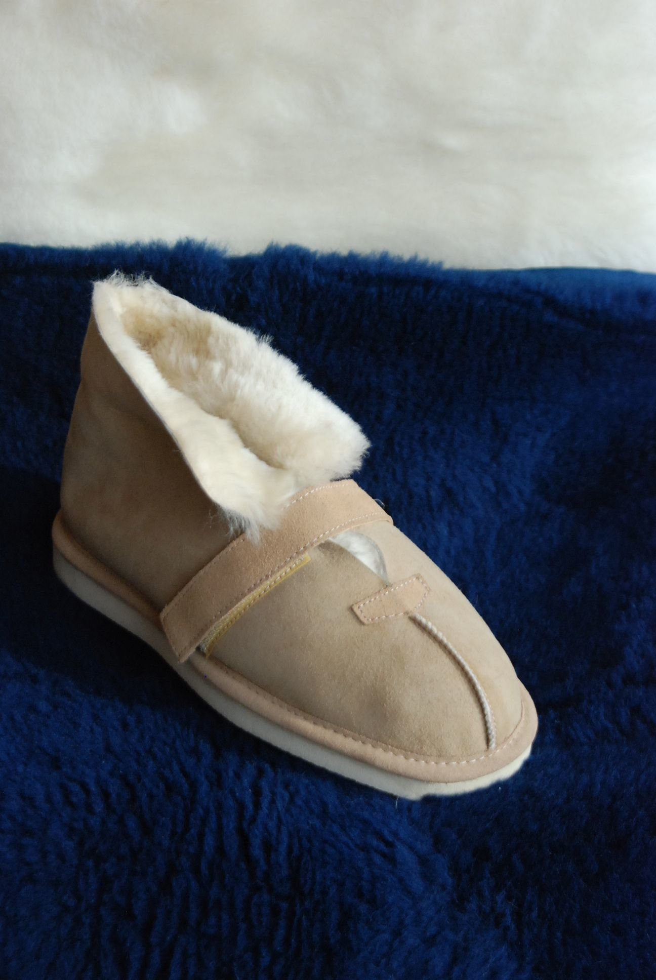 Medical Sheepskin Slippers