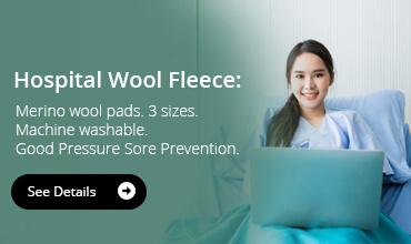 Hospital Wool Fleece: