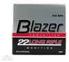 500 Rounds CCI Blazer .22LR 40 gr LRN Bullet with Brass Casing - Must purchase 5 or more