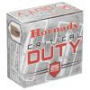 250 Round Case Hornady Critical Duty 9mm 135 Grain Flex-Lock in 25 round boxes - Barrier Blind Round